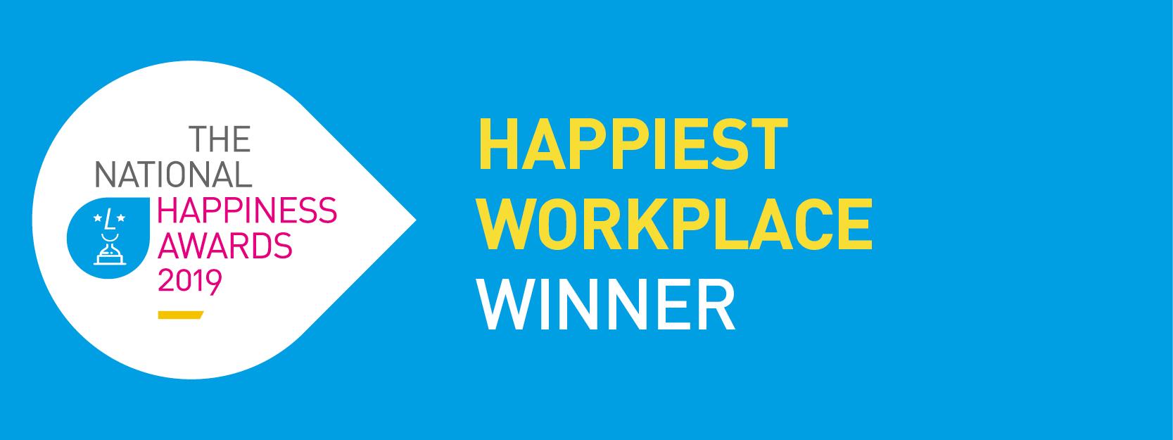 Happiest Workplace Award 2019 Logo