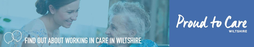 Proud to Care Wiltshire Corporate Banner