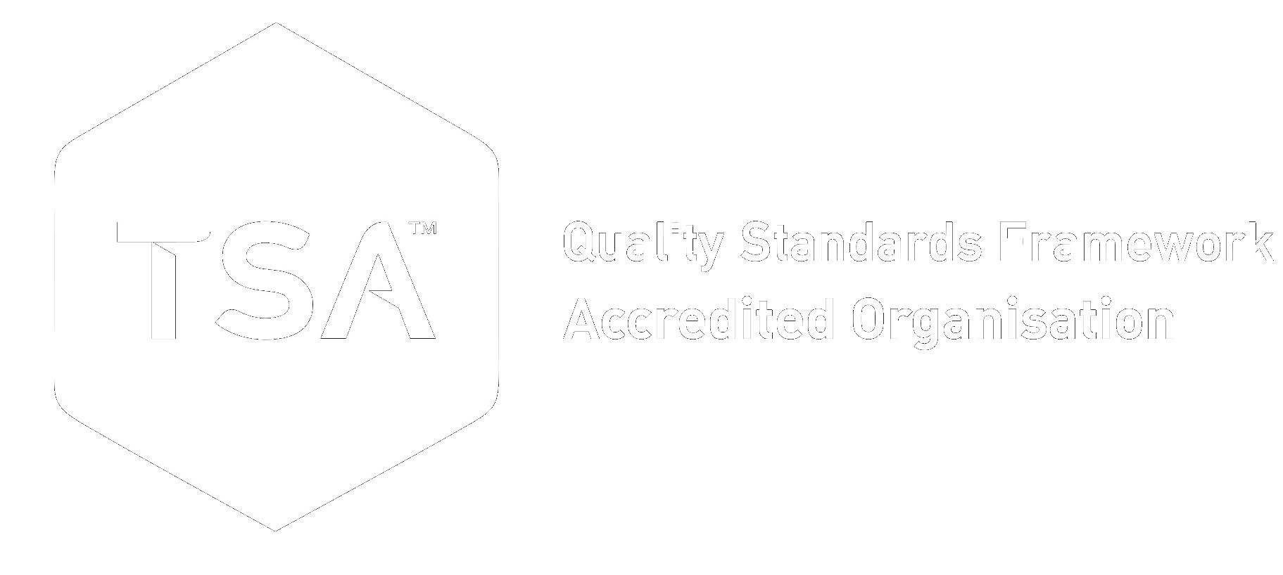 TSA accreditation logo
