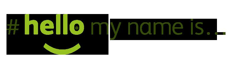 #hellomynameis logo