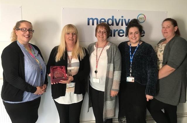 Medvivo Business Development team photo