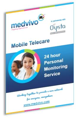 Cover image of Mobile Telecare brochure