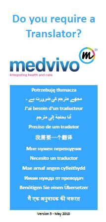 Translator leaflet cover