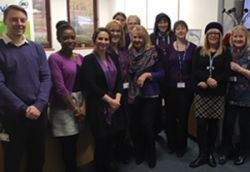 Wearing Purple for Pancreatic Cancer